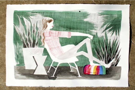 Screened Porch, 2016 — Illustration by Mike Reddy