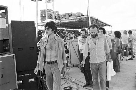 The Band —Sundary Break,Austin, September 1976 — Photograph by Scott Newton
