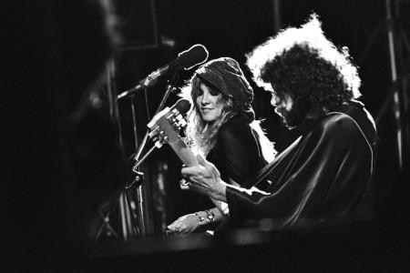 Fleetwood Mac (with Stevie Nicks), September 1976 — Photograph by Scott Newton