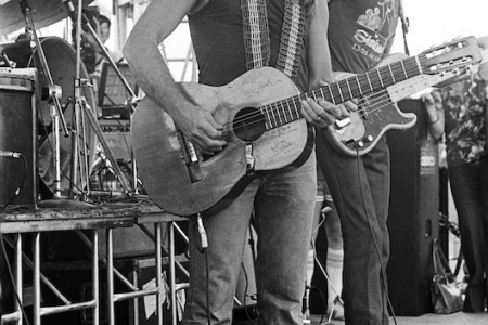 Willie Nelson's 4thof July Picnic — Briarcliff TX, July 4, 1979 — Photograph by Scott Newton
