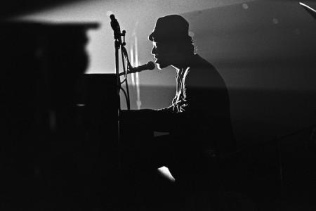 Tom Waits Austin Opry House, November 1977 — Photograph by Scott Newton