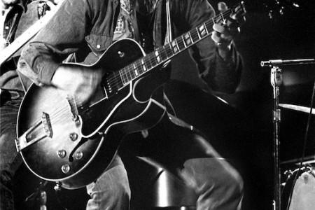 Doug Sahm Armadillo WHQ, November 1973 — Photograph by Scott Newton