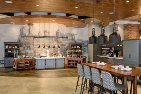 Archer's Kitchen + Bar — Dining area with buffet