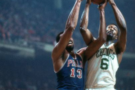 Bill Russell, Boston Celtics — Photograph by Unknown