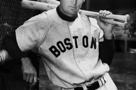 Ted Williams, Boston Red Sox — Photograph by Unknown