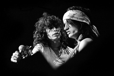 Aerosmith Live, 1974 — Photograph by Ron Pownall/Corbis via Getty Images