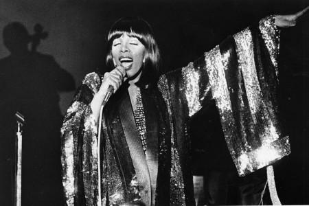 Donna Summer, 1978 — Photograph by Janet Knott/Boston Globe