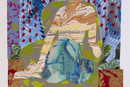 After Matisse's 'Seated Odalisque' of 1926, 2017 — Collage by Dinora Justice