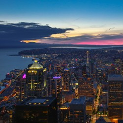 Columbia Center's Sky View Observatory