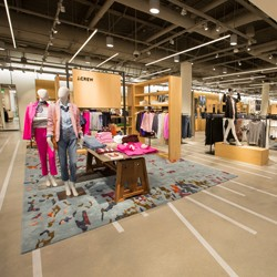 Women's clothing department at Nordstom}