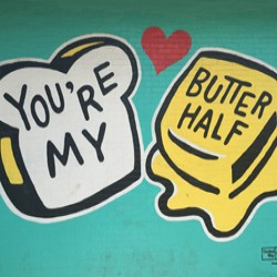 You're My Butter Half — Mural}