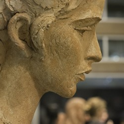 Head of Farrah sculpture by Charles Umlauf