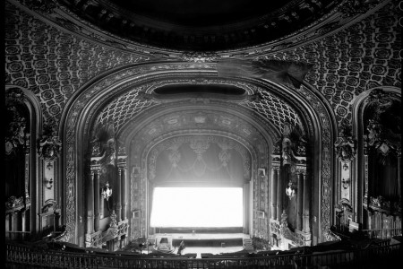 Geometries — The Landmark Loew's Jersey Theater, 2008 — Photograph by Fred R. Conrad