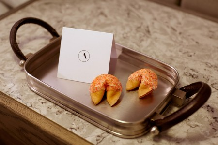 Archer's turndown treat — Fancy Fortune Cookies and a special note