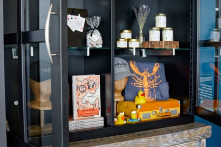Curated souvenirs for purchase