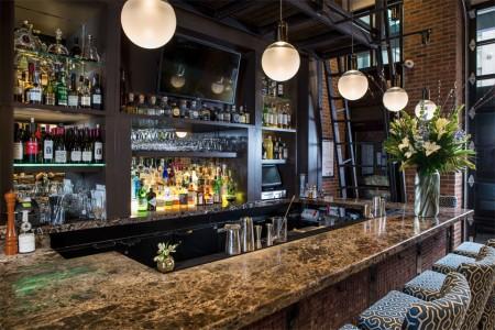 Archer's Foyer Bar — side view