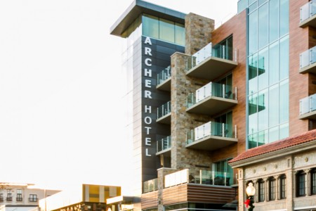 Archer Hotel Napa — Daytime exterior view