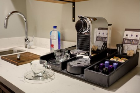 Archer's Den with Balcony - Nespresso coffee experience and wet bar sink