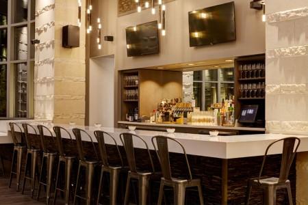 The bar at Second Bar Restaurant