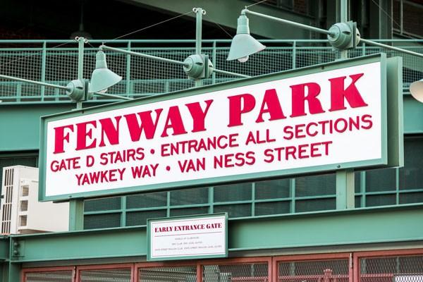 Entrance to Fenway Park