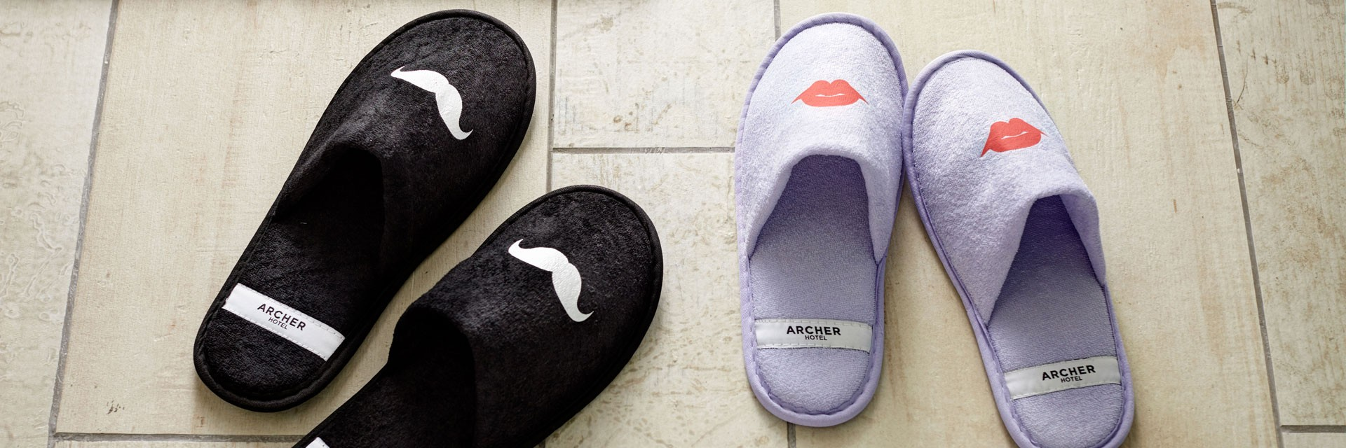 Archer Hotel Slippers