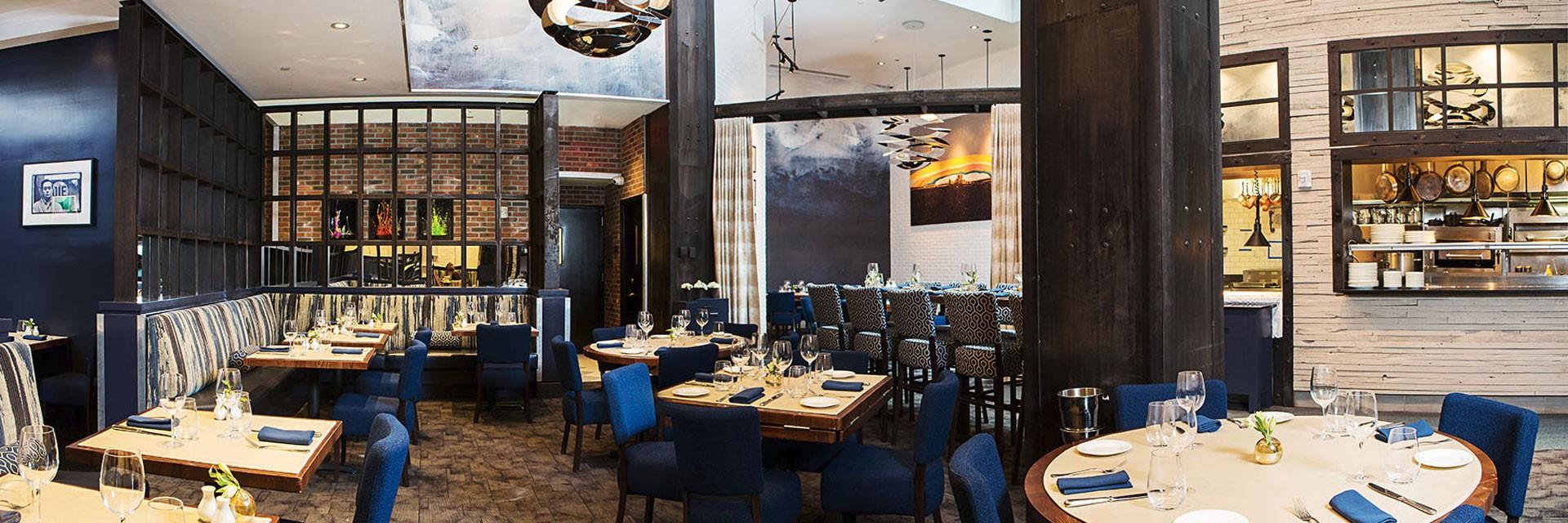 Charlie Palmer Steak  Restaurant Table Setting