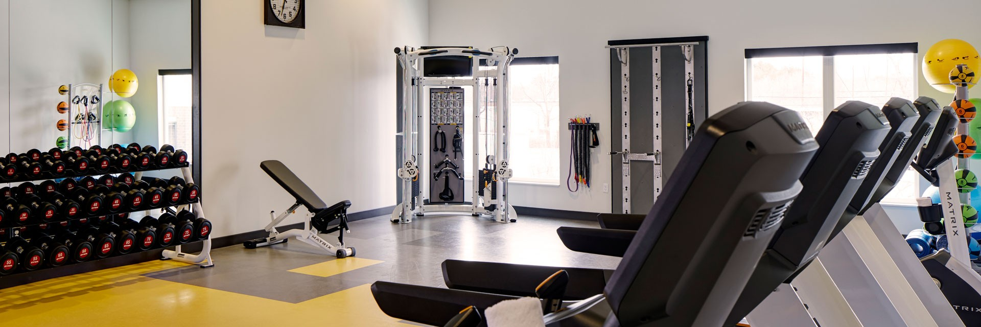Archer Hotel Burlington Fitness Studio