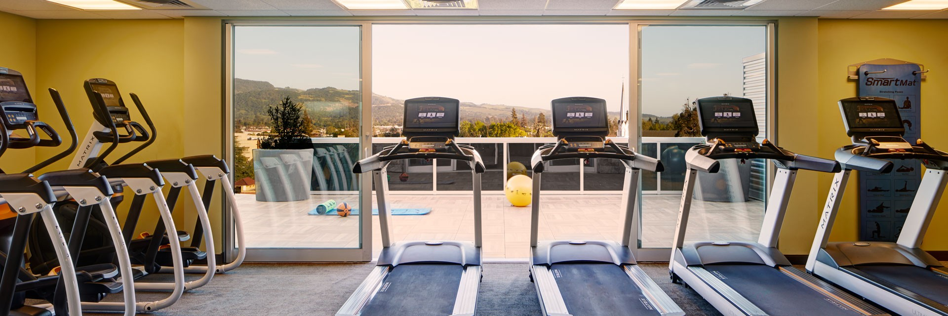 Archer Hotel Napa - Fitness studio cardio equipment
