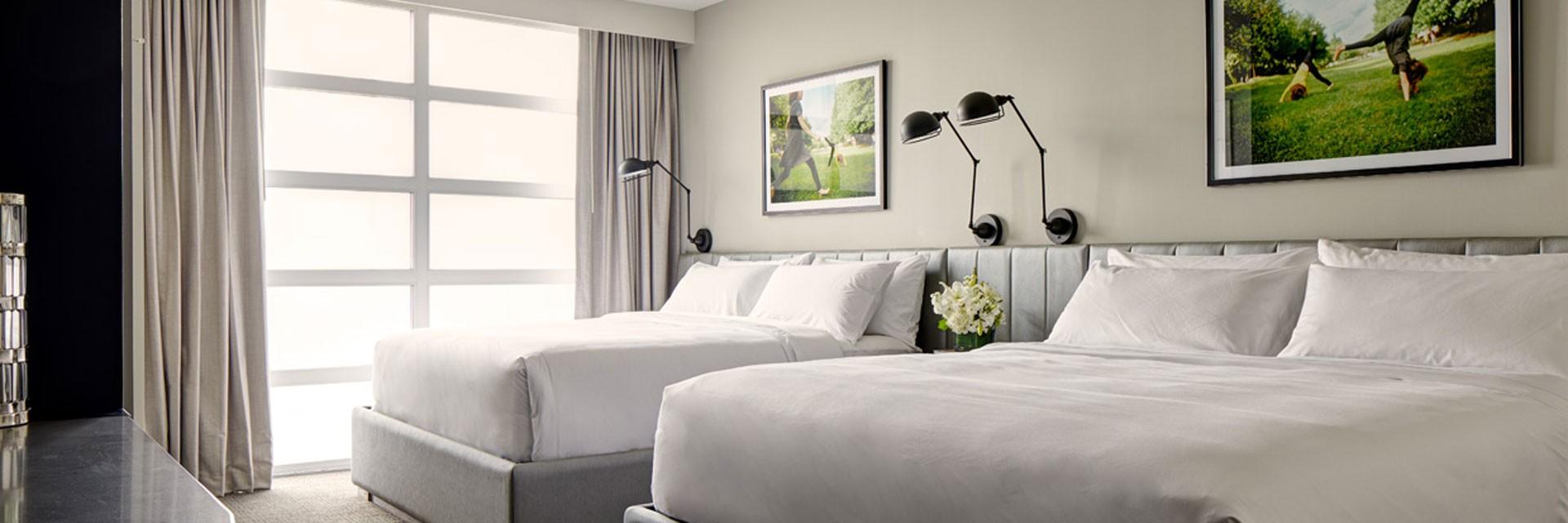 Archer Hotel Redmond Double King Guest Room