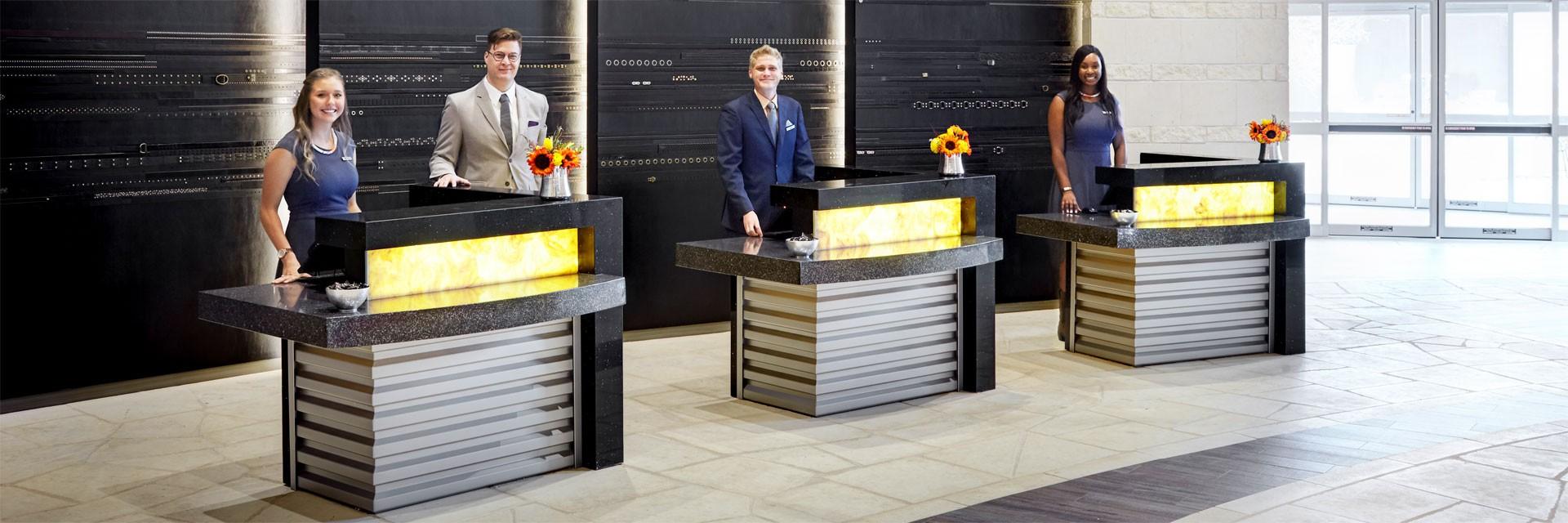 Archer Hotel Austin Front Desk