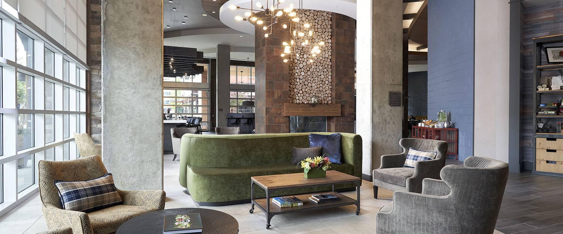 Archer Hotel Redmond lobby