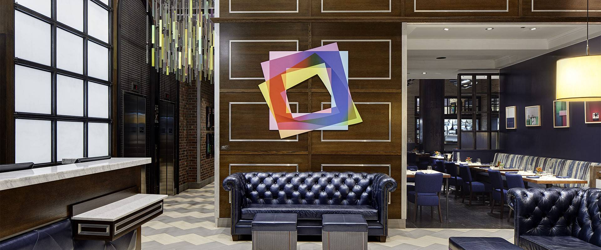 Archer Hotel New York lobby