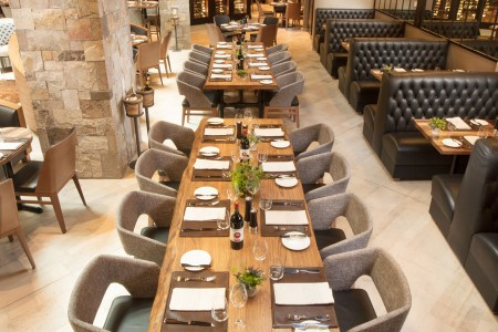 Long-table seating