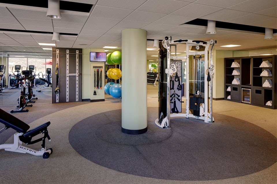 Fitness Studio with weights station