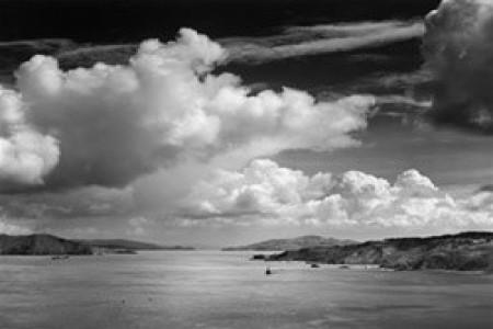 Golden Gate Before the Bridge, 1932 — Photograph by Ansel Adams