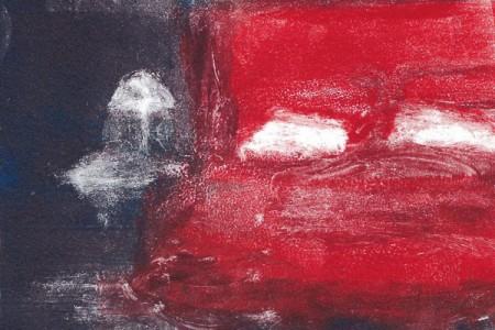 Cardinal Sin, 1997 — Monotype by Nancy Willis