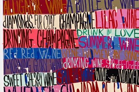 Red Wine, 2016 — Pigment print by Squeak Carnwath