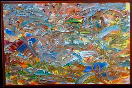 Balderdash, 2017 — Oil on canvas by Marvin Humphrey