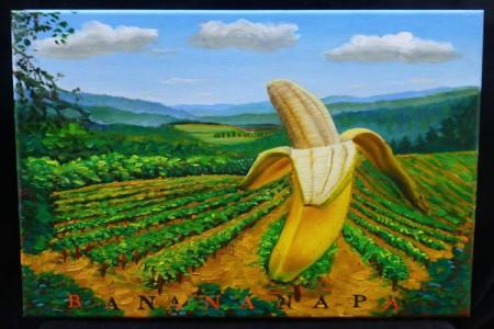 Banananapa, 2017 — Oil on canvas by Marvin Humphrey