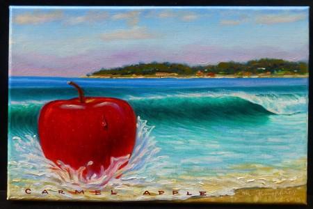 Carmel Apple, 2017 — Oil on canvas by Marvin Humphrey