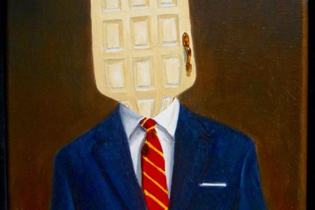 Doorman, 2017 — Oil on canvas by Marvin Humphrey