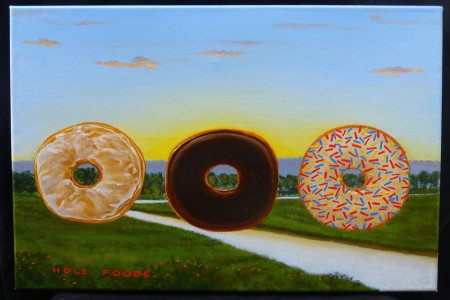 Hole Foods, 2017 — Oil on canvas by Marvin Humphrey