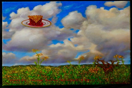 Pie in the Sky, 2017 — Oil on canvas by Marvin Humphrey