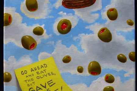 Save the Date, 2017 — Oil on canvas by Marvin Humphrey
