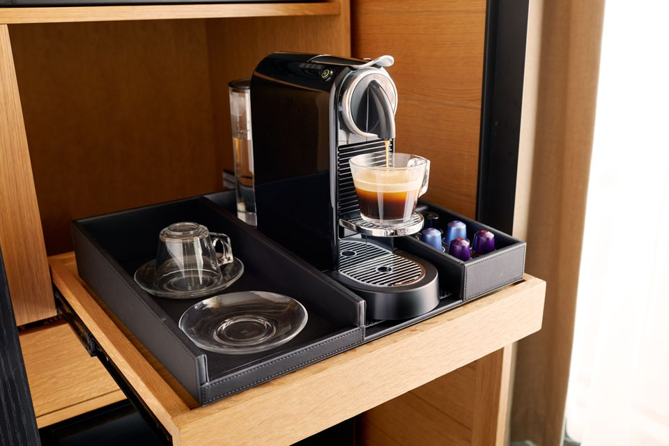 Archer Hotel Napa — in-room Nespresso coffee experience
