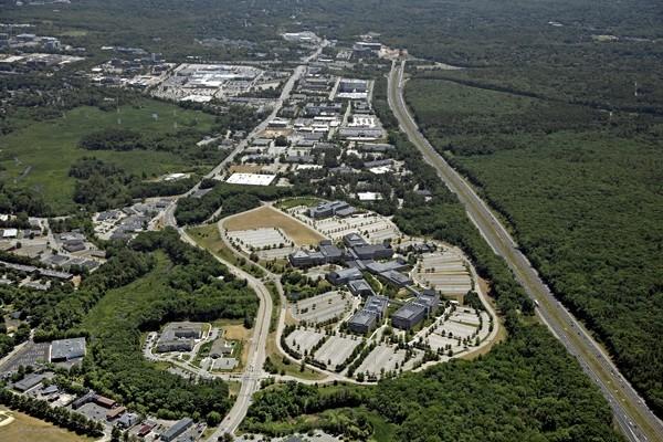 Aerial view of Northwest Park