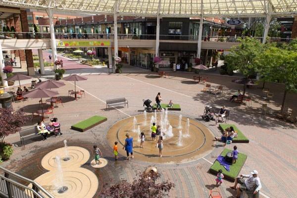 Archer Hotel Redmond — Redmond Town Center Water Splash Park