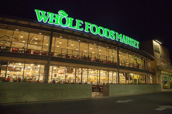 Whole Foods Market at Night View