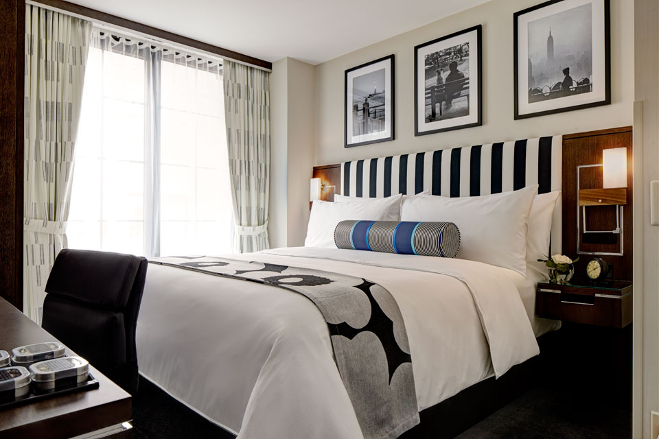 A Room Fit For An Archer: Boutique Midtown Hotel Rooms