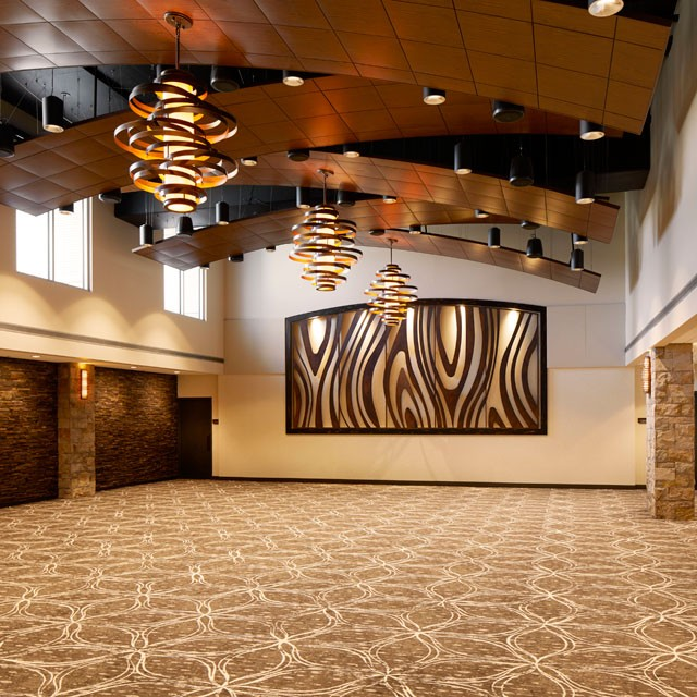 The Grand Salon — large event space — at Archer Hotel Napa